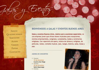 Galas y eventos